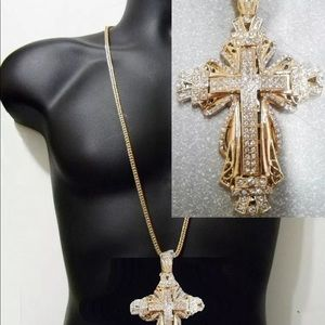 Other - Brand New Fashion Hip Hop ~ Iced Out Jewelry